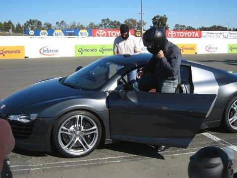 Audi R8, Part 2: Welcome To The Racetrack!