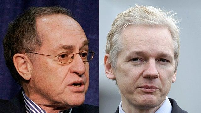 Wikileaks Hires Alan Dershowitz