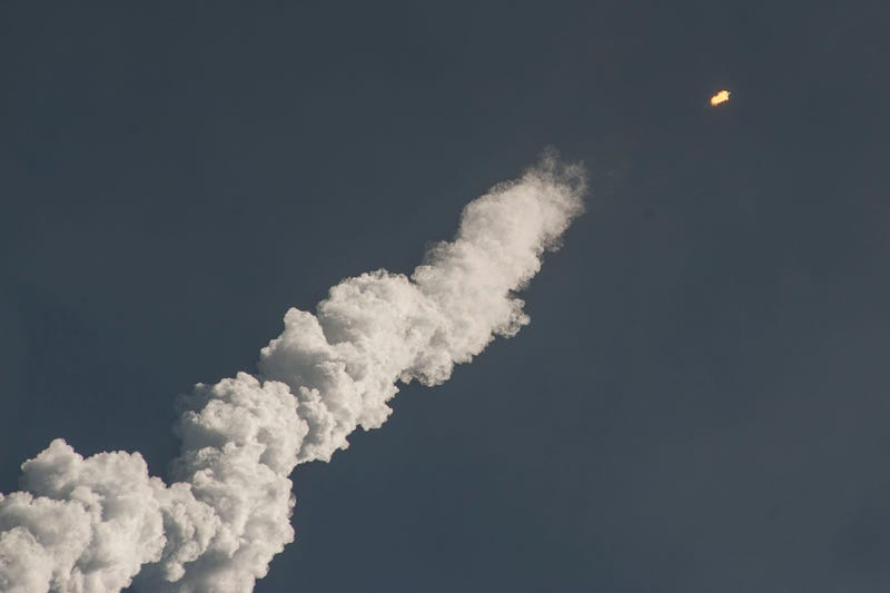 Just Another Gorgeous and Successful Rocket Launch