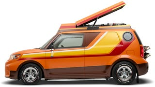 This '70s Inspired Scion xB Is An Amazing Throwback Shaggin' Wagon