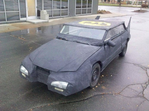 Holy Larceny! Someone Stole The World's Worst Batmobile