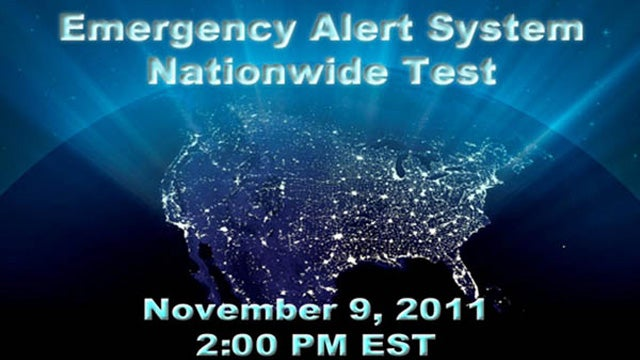 First Nationwide Public Warning Test Induces Widespread Panic