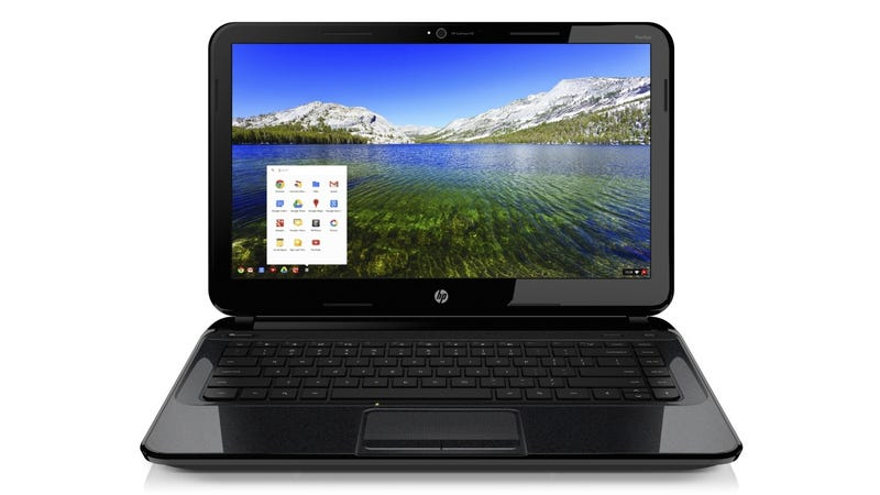 HP's First Chromebook: Big Screen, Little Else