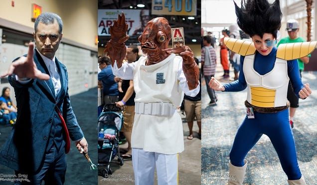 It's Not A Trap: The Most Incredible Cosplay From Long Beach Comic Con!
