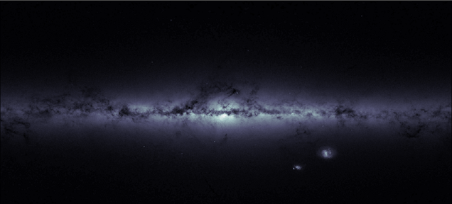 Navigational Data Produced A Beautiful Image of the Milky Way