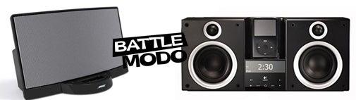 iPod Dock Bracket, Bose SoundDock vs. Logitech AudioStation