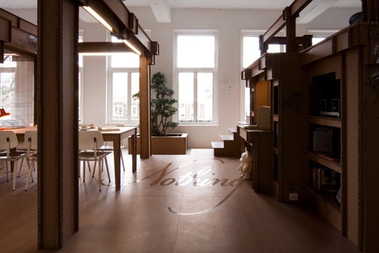 Step Inside The Cardboard Office