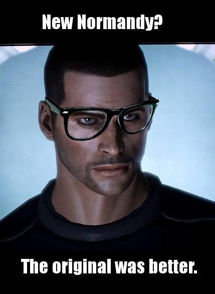 """I Only Play As Femshep"", And Other Hipster Musings On Mass Effect"