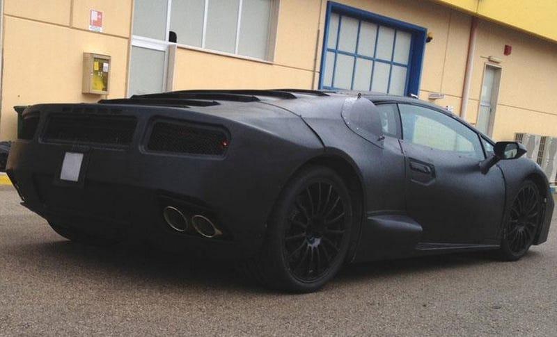 New Lamborghini Cabrera mule spotted (Gallardo replacement)