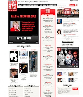 Tina Brown Launches Daily Beast