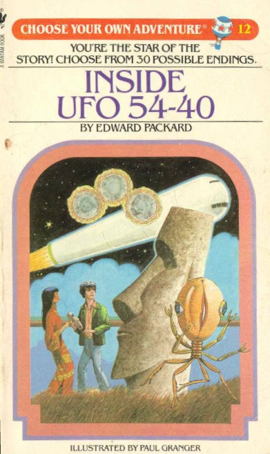 "Remember Inside UFO 54-40, the Unwinnable ""Choose Your Own Adventure""?"