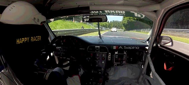 Racer Somehow Not Obliterated After Wheel Falls Off On Nurburgring