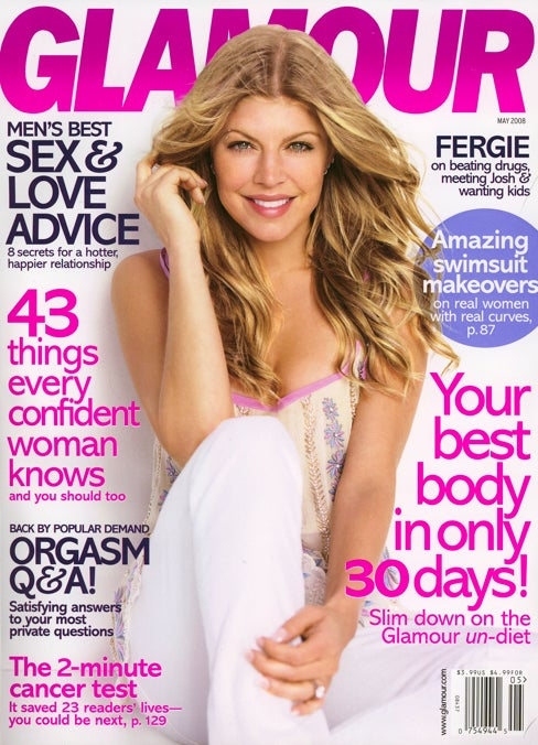 How Does Fergie Stay So Regular? Only Glamour Knows For Sure!