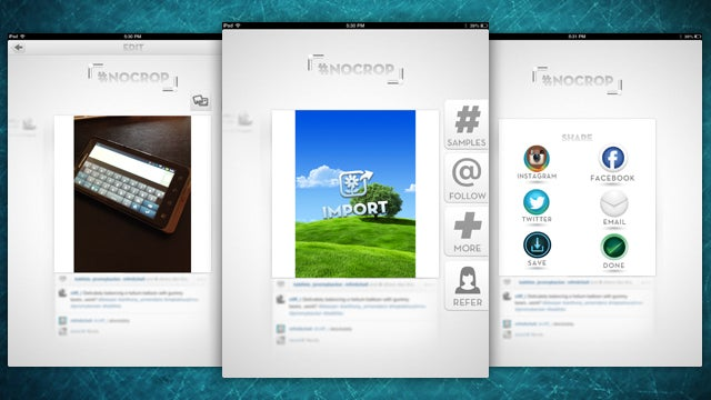 NoCrop Automatically Formats Your Photos for Instagram and Other Networks, No Cropping Required