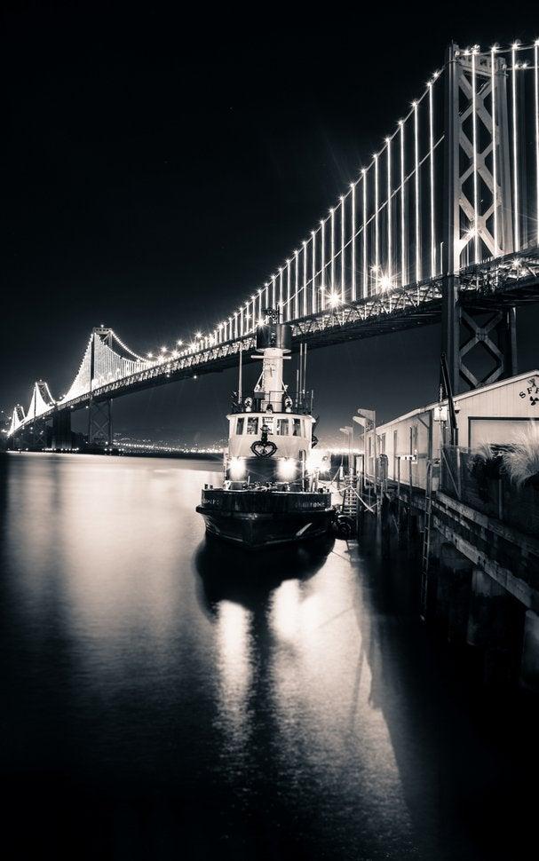 34 Black & White Photos Of Night