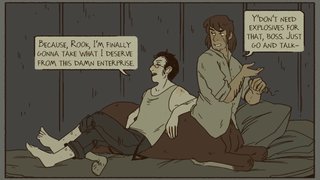 A Gay Romance Webcomic About A Centaur In The Old West