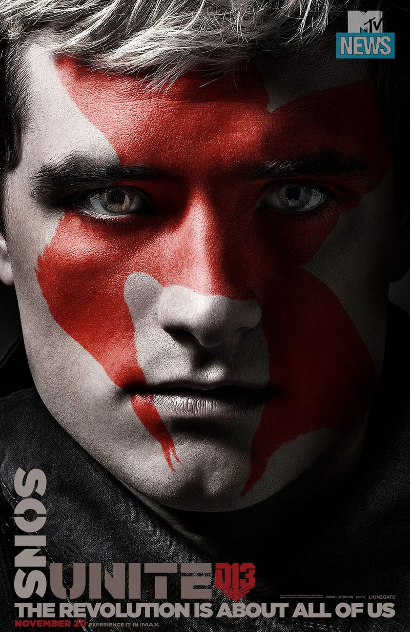 Revolution Begins In 8 New Posters For Hunger Games ...