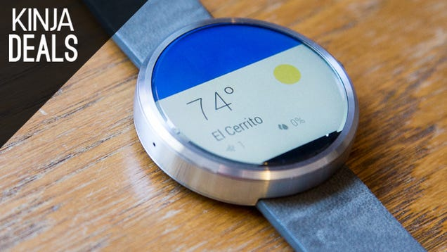 Moto 360 For $220, Cheap Bluetooth Earbuds, Surface Pro 3, More Deals