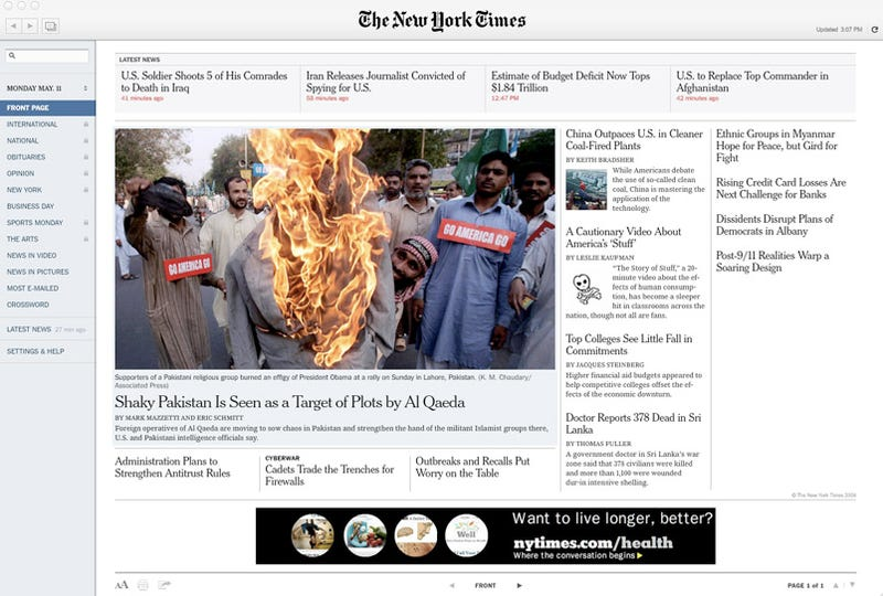 TimesReader 2.0: Best Way to Read Newspapers on a Computer Gets Even Better