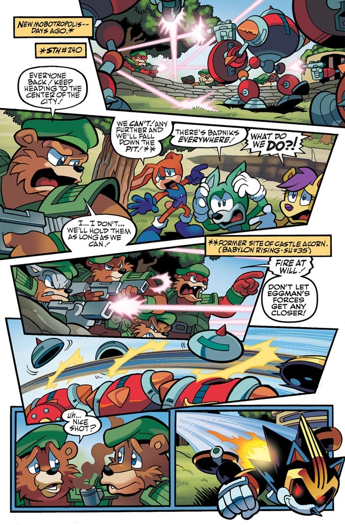 These Are the Guys Who Make Sonic's Life Hell in His Comic Book Series