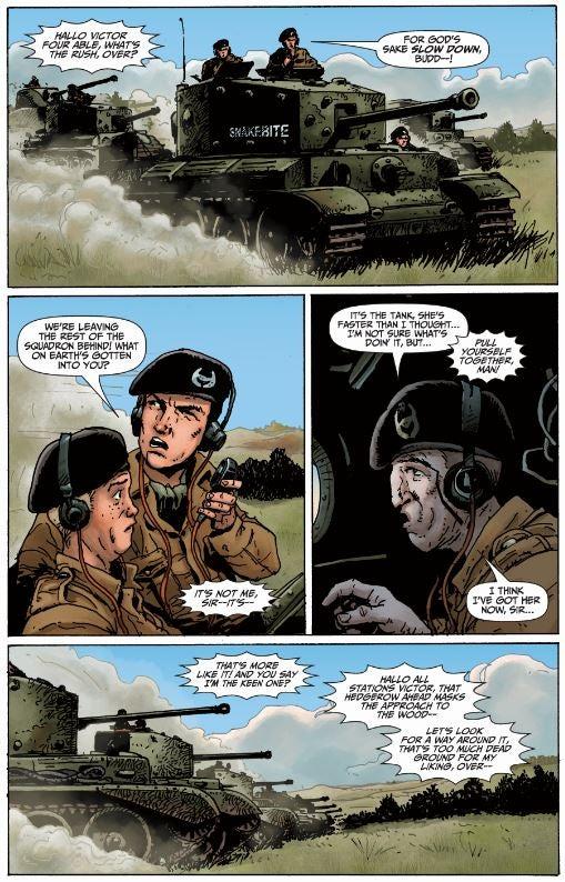 PreacherWriter Garth Ennis Will Write A NewWorld of TanksComic Book