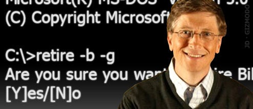 Bill Gates Retirement Party