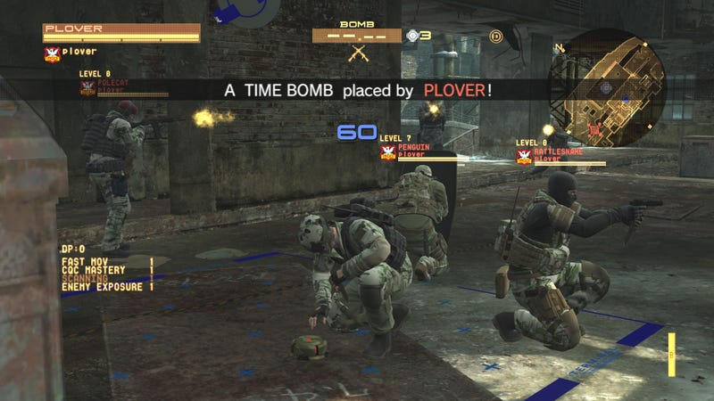 Metal Gear Online Set Up Us The Bomb Mission!