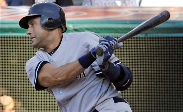 Derek Jeter Responsible For All 27 Outs In Yankee Loss