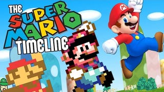 It Takes Nine Minutes To Break Down The Amazing <i>Super Mario</i> Timeline