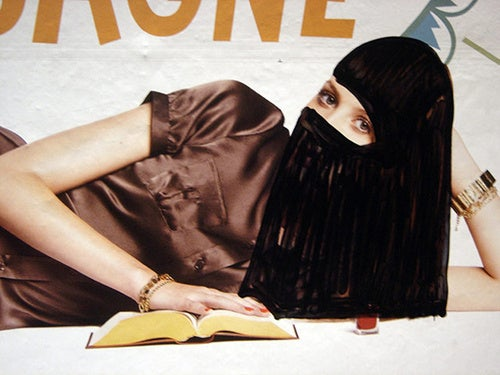 "The Controversial Persona & Artwork Of ""Princess Hijab"""