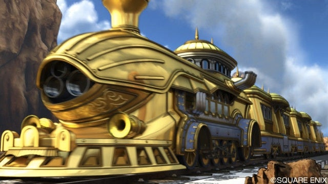 This Dragon Quest X Train Sure Looks Familiar