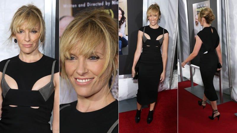 Toni Collette Straps Herself into Fashion