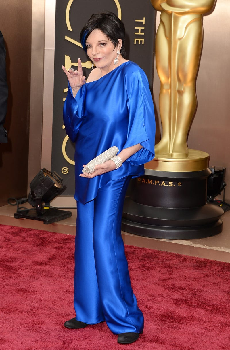 Here Are Liza Minnelli's Nipples