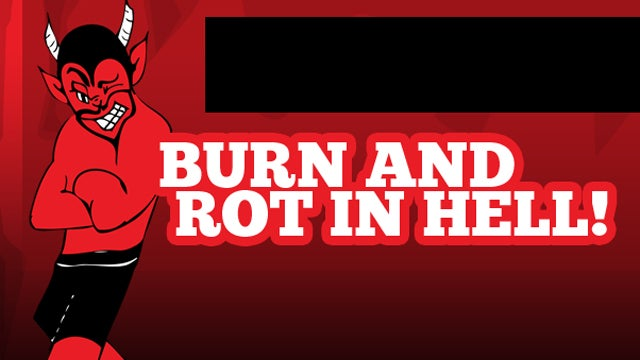 "Teacher Launches ""Burn And Rot In Hell"" Website, Is Surprised To Be Fired"