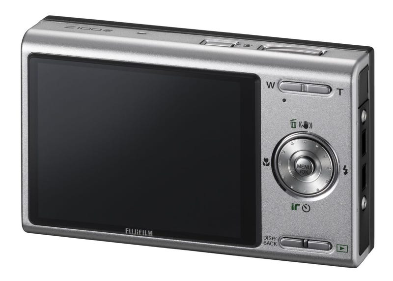 Fujifilm FinePix Z100fd, So Thin It's Anorexic