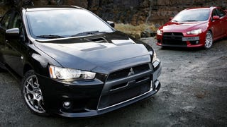 There's Gonna Be A Final, Limited Edition Mitsubishi Evo X