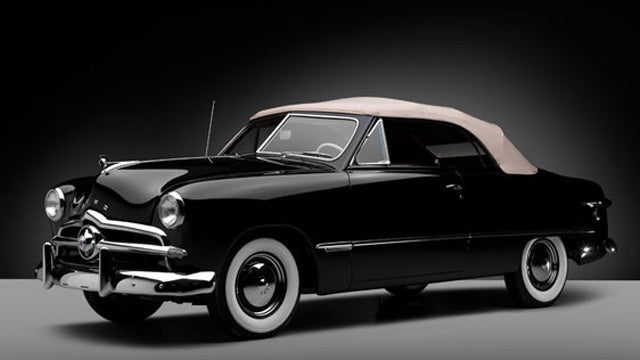 What Did This Former Ford Board Member's Car Collection Bring At Auction?