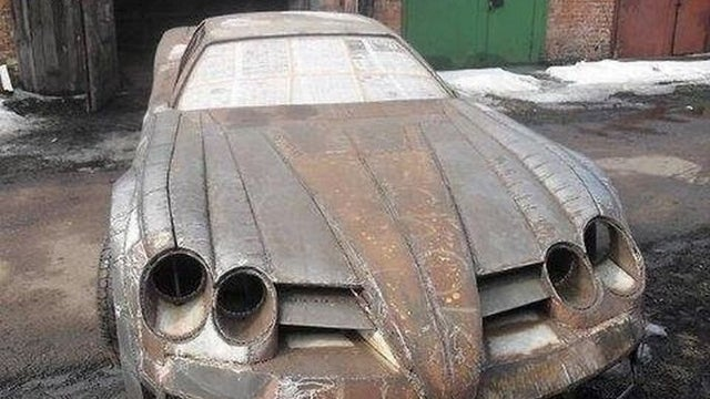 Handbuilt Russian Mercedes SLR Mclaren replica must be seen to be believed