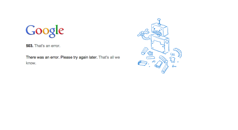 Google+ Is Down, Due To Neglect Probably