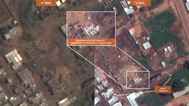 George Clooney Is Using Satellite Imagery to Prove Genocide