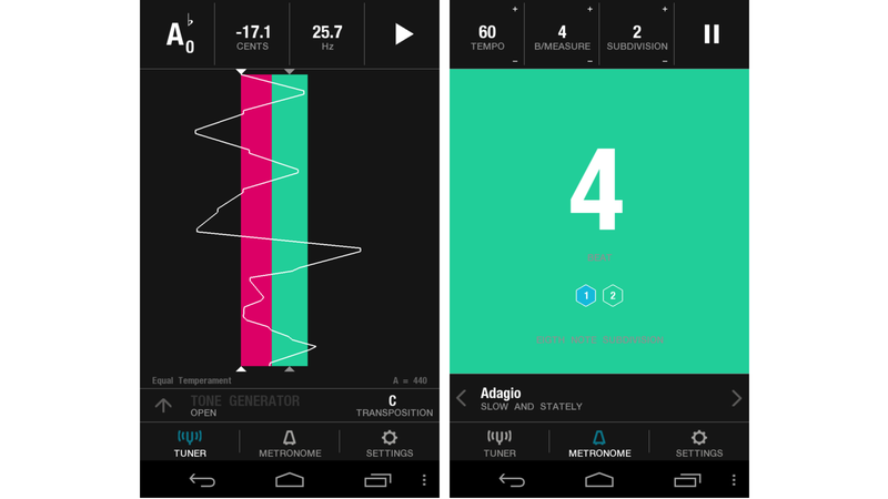 Being Off-Key Can At Least Look Good With This Pretty Tuning App