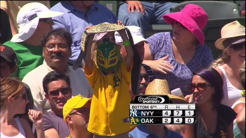 The A's Finishing A Four-Game Sweep Of The Yankees Is So Improbable It Sounds Like Something Out Of WWE