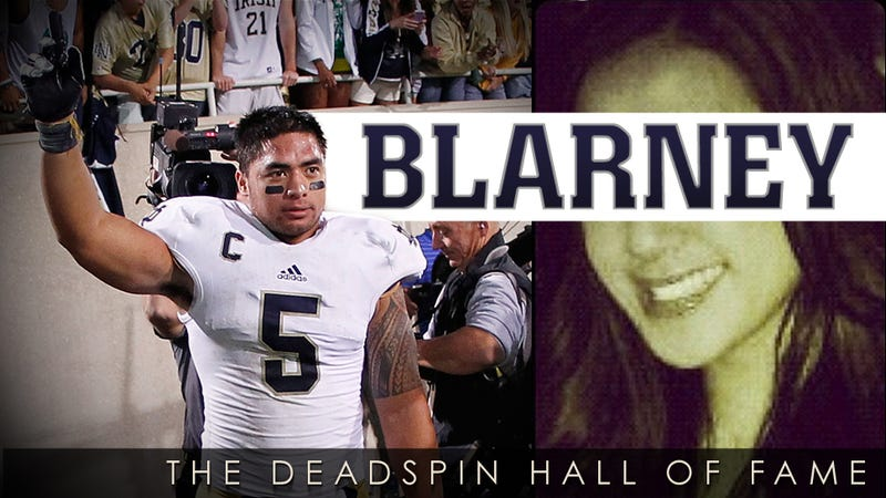 2013 Deadspin Hall Of Fame Nominee: Manti Te'o's Dead Girlfriend