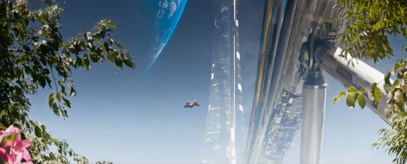 The Real-Life Buildings Used to Sell Elysium's Luxurious Dystopia