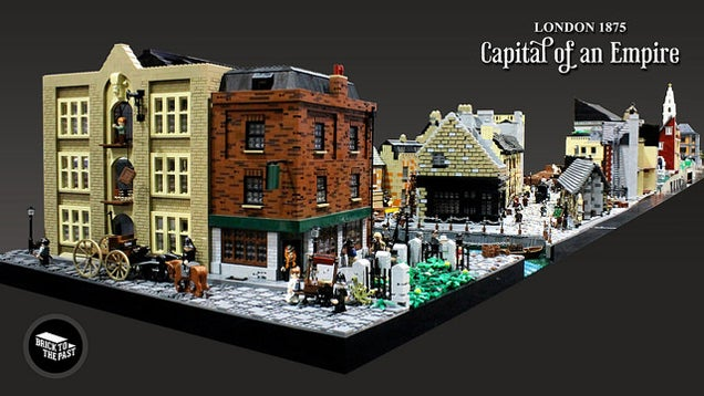 Victorian Era LEGO London Is Massive