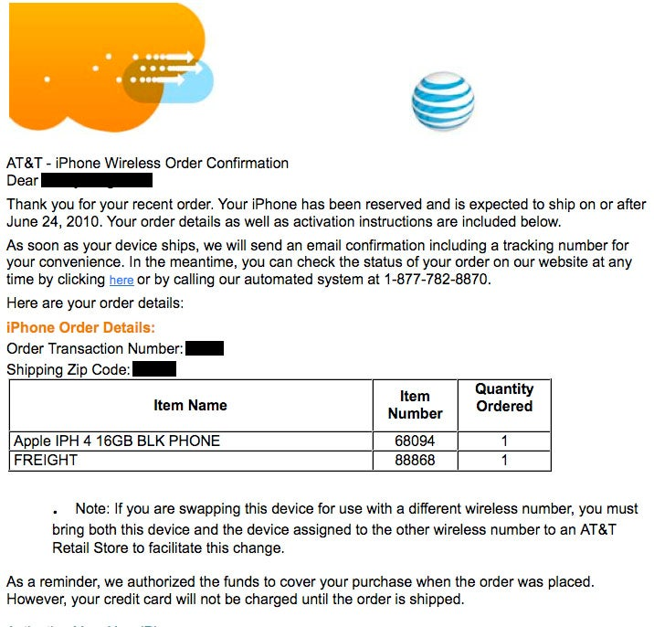 AT&T iPhone 4 Pre-Orders Have Sold Out