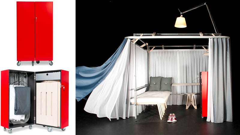 Travel Cheap With a Trunk That Transforms Into Its Own Hotel Room