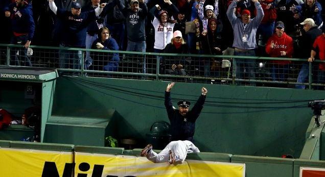 Famous Boston Bullpen Cop Gets His Own Bobblehead