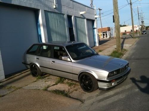 For $11,000, This E30 Franken-Wagon has the Best of BMW Bits