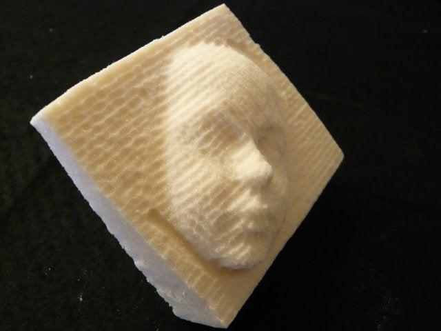 DIY Robot Does 3D Carving: Self-Replication Still Far-Off